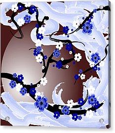 Cherry Tree_wisperwind Acrylic Print by Mellisa Ward