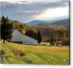 Cherry Valley Farm Acrylic Print