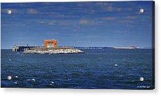 Chesapeake Bay Bridge And Tunnels Acrylic Print