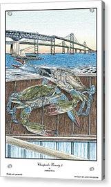 Chesapeake Bounty 3 Acrylic Print