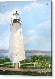 Chesapeake Lighthouse Acrylic Print