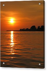 Chesapeake Sun Acrylic Print by Photographic Arts And Design Studio