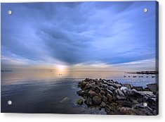 Chesapeake Sunset Acrylic Print
