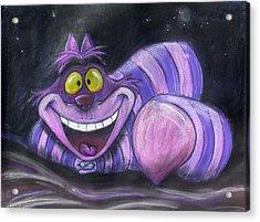 Cheshire Cat Acrylic Print
