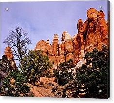 Chesler Park Pinnacles Acrylic Print