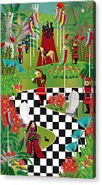 Chess Festival - Limited Edition 2 Of 20 Acrylic Print