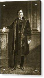 Chester A. Arthur Acrylic Print by Daniel Huntington