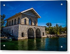 Chester Thordarson Boathouse  Acrylic Print
