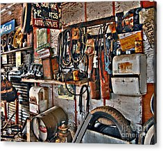 Acrylic Print featuring the photograph Chester's Wall by Lee Craig