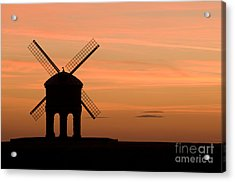 Chesterton Sunset Acrylic Print by Anne Gilbert