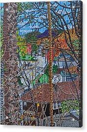 Chestnut Street From Clinton Street Acrylic Print by Micah Mullen