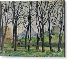 Chestnut Trees At Jas De Bouffan Acrylic Print