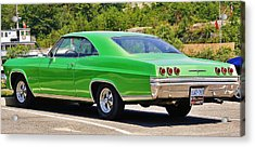 Acrylic Print featuring the photograph Chev Impala by Al Fritz