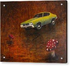 Chevelle Acrylic Print by Jeff Levitch