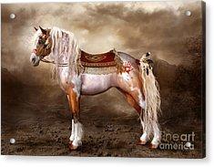 Cheveyo Native American Spirit Horse Acrylic Print