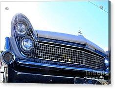 Chevrolet Blue  Acrylic Print by LLaura Burge