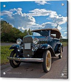 Chevrolet Confederate Ba Phaeton 1932 Acrylic Print