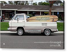 Chevrolet Corvair 95 Open Top Van 5d24225 Acrylic Print by Wingsdomain Art and Photography