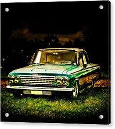 Chevrolet Impala Acrylic Print by motography aka Phil Clark