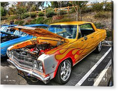 Acrylic Print featuring the photograph Chevrolet Malibu Ss by Kevin Ashley