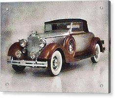 Chevrolet Master Sport Coupe Acrylic Print