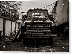 Chevrolet Pickup  Acrylic Print by Off The Beaten Path Photography - Andrew Alexander