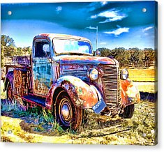 Chevrolet Pickup Truck Acrylic Print