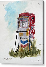 Chevron Acrylic Print