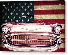 Chevy Bel Air 57 Acrylic Print by Diego Abelenda