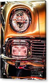 Chevy Bel Air Headlight Acrylic Print by Shanna Gillette