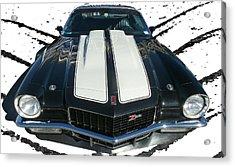 Chevy Camaro Z28 Acrylic Print