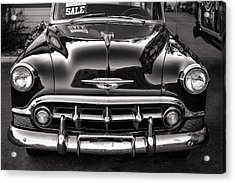 Chevy For Sale Acrylic Print by Ari Salmela