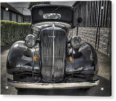 Chevy Acrylic Print by Jean Noren