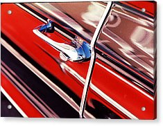 Acrylic Print featuring the photograph Chevy Or Caddie? by Ira Shander