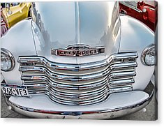 Acrylic Print featuring the photograph Chevy Pickup Classic by Dyle   Warren