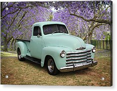 Acrylic Print featuring the photograph Chevy Pickup by Keith Hawley