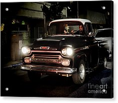 Chevy Pickup Truck Acrylic Print by Nina Prommer