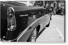 Chevy Reflections Acrylic Print by Randall  Cogle