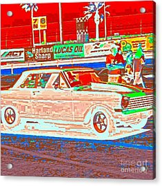 Chevy Shoe Box Acrylic Print by James Eye