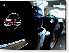 Chevy Ss - Leading The Pack Acrylic Print by Steven Milner