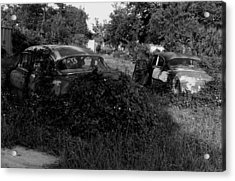Chevys By The Levee Acrylic Print