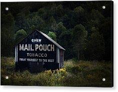 Chew Mailpouch Acrylic Print by Tom Mc Nemar