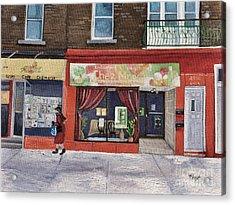 Chez Maggy Verdun Acrylic Print