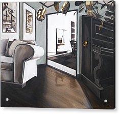 Chez Moi Acrylic Print by Erin Brinkman