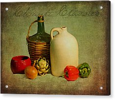 Chianti Classico Acrylic Print