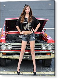 Chic Chevelle Acrylic Print by Mark Spearman