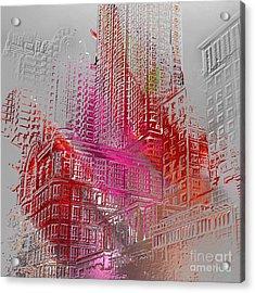 Chicago 2 Acrylic Print by Soumya Bouchachi