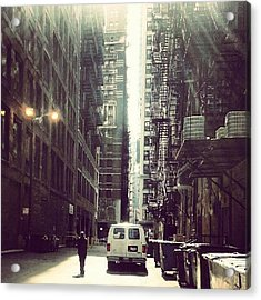 Chicago Alleyway Acrylic Print