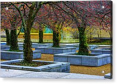 Chicago Art Institute South Garden Acrylic Print