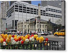 Chicago At Spring Time Acrylic Print